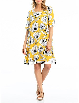 ELBOW FLORA DRESS