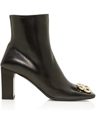 DOUBLE SQUARE BB BOOTIE VARENNE CALFSKIN M80 BB GOLD