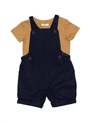cc9680636f00 Cord Overall With Cotton Tee Set(3M-24M) ...