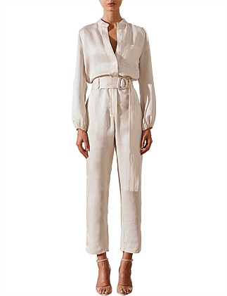 Ellington Relaxed Jumpsuit With D Ring Belt