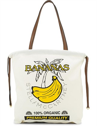 Simple Strings Bananas Print Eco Tote Bag
