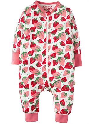 Summer Zip Babygrow(NB - 6-12M)