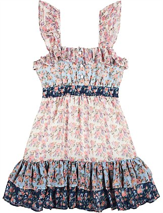 Elsa Floral Mini Dress (3-7 YRS)