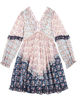 Elsa Floral Sleeve Dress (8-16 YRS)