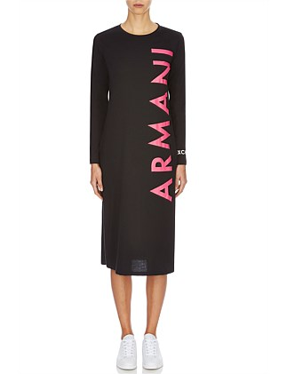 Vertical Logo Dress