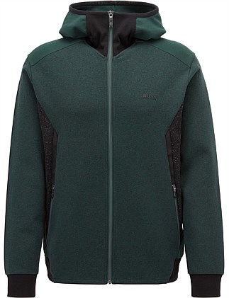 2c1d6ccf2 Slim-Fit Hoodie In Stretch Jersey With Reflective Details. Hugo Boss