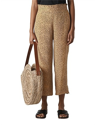 MINI LEOPARD PRINT TROUSER