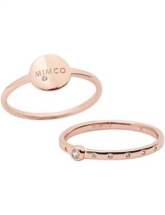 Mim-Match Ring Duo