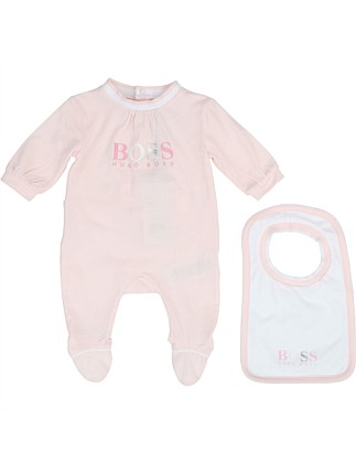Set Pyjamas & Bib (3-12 Months)