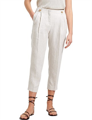FRIDA BUTTON LINEN PANT