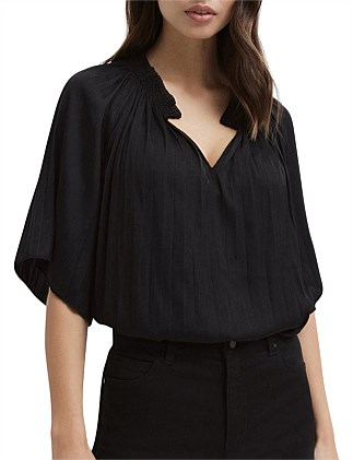 Pleat Blouse