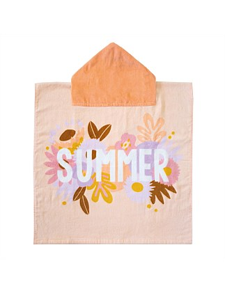 SUMMER PRINTED PONCHO