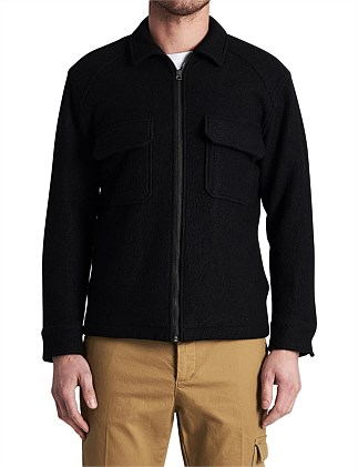 WOOL FIELD JACKET