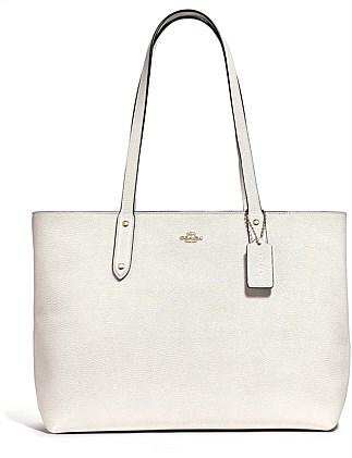 19ee01a1b3 CENTRAL TOTE WITH ZIP. Coach