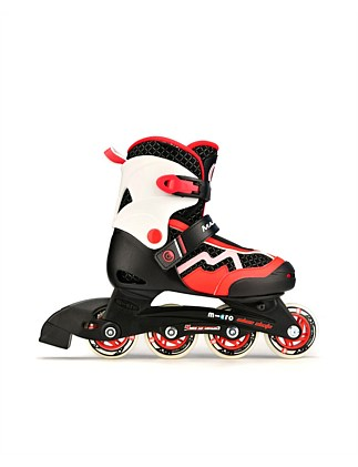 Micro Majority Inline Skates Red Size #27 - 30