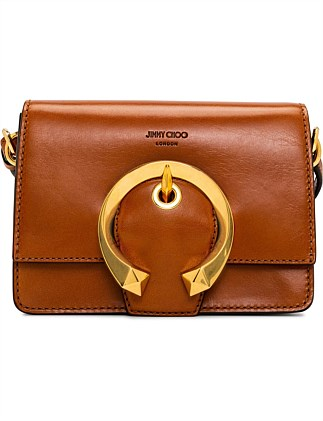 MADELINE SHOULDER BAG/S WITH METAL BUCKLE