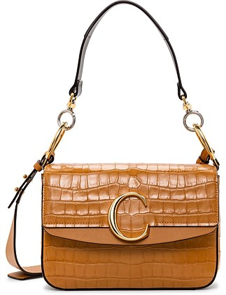 CHLOE C SMALL DOUBLE CARRY BAG