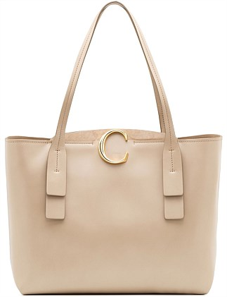 CHLOE C MEDIUM ZIPPED TOTE