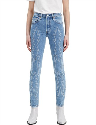 501® Embroidered Skinny Jean