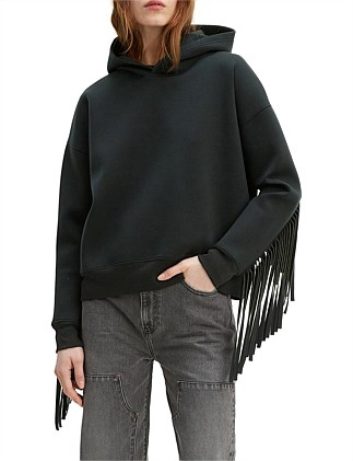 Made & Crafted Rodeo Fringe Hoodie