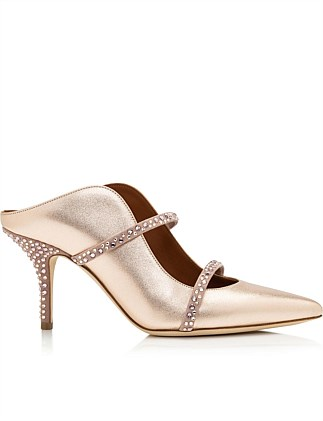 MAUREEN CRYSTAL METALLIC MULE