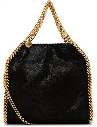 Shaggy Deer Mini Falabella Tote with Chain