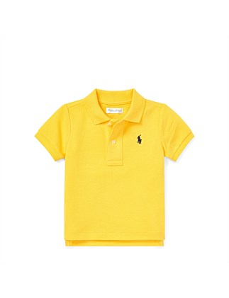 Cotton Mesh Polo Shirt (6-24 Months)