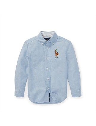 Big Pony Cotton Oxford Shirt (5-7 Years)
