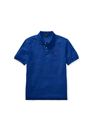Classic Fit Cotton Mesh Polo (S-XL)