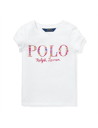 Floral Polo Jersey T-Shirt (2-4 Years)