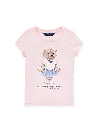 Cricket Bear Cotton Tee (2-4 Years)