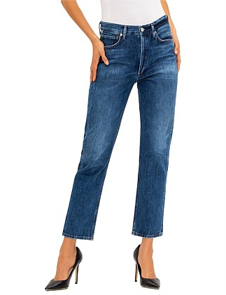 Charlotte High Rise Straight Jean