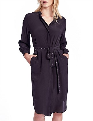 Nicolette Shirt Dress with Belt