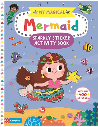 My Magical Mermaid Sticker Activity