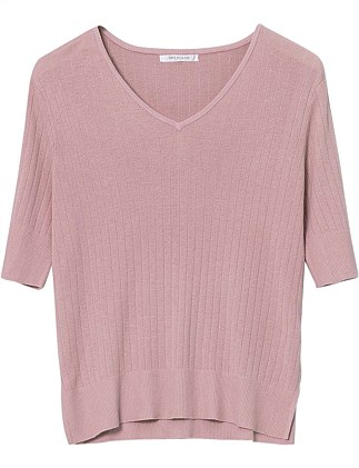Soulis Pointelle Knit Top - Medium