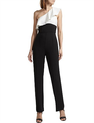 Liza One Shoulder Jumpsuit