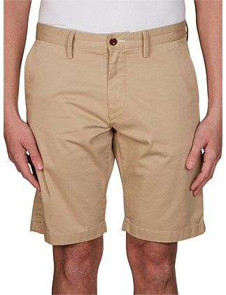 O1. RELAXED TWILL SHORTS