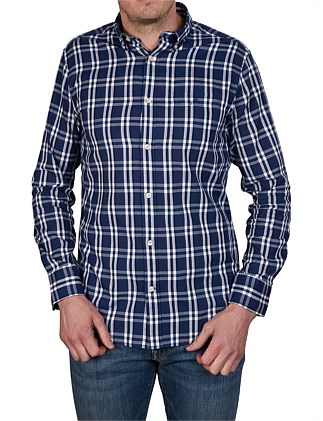 O1. WINDBLOWN OXFORD PLAID REG BD