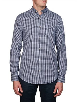 O1. WINDBLOWN OXFORD CHECK REG BD