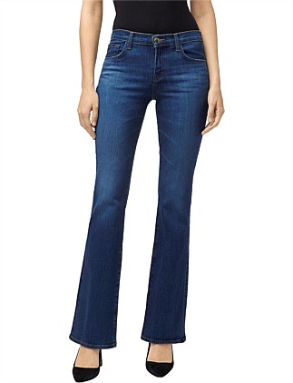 Sallie Mid Rise Boot Cut Jeans