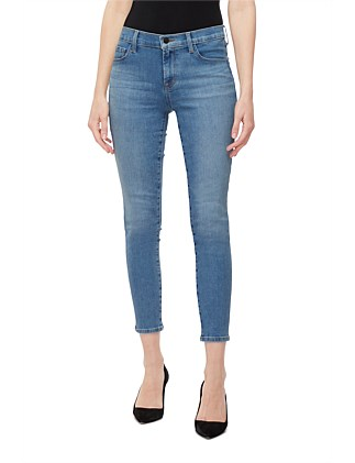 835 Mid Rise Crop Skinny Jeans
