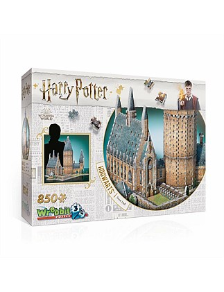 Wrebbit 3D Harry Potter Great Hall