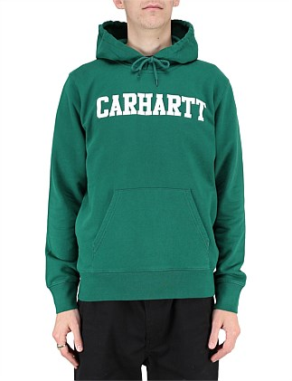 HOODED COLLEGE SWEATSHIRT