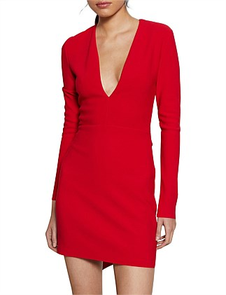 Valentine Long Sleeve Mini Dress