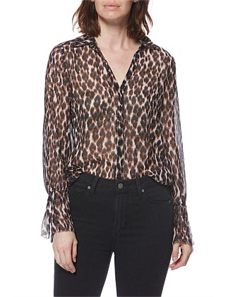 Psychedelic Leopard Abriana Shirt