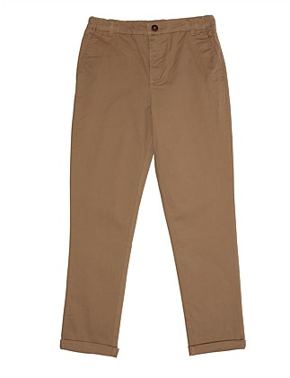 Mini Drill Chino Pant (Boys 8-16)