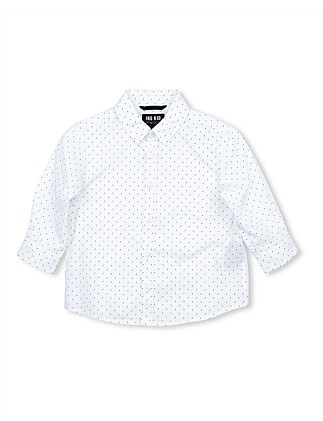 White Dash Shirt (Boys 0-2)