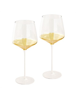 Estelle Crystal Wine Glass set of 2