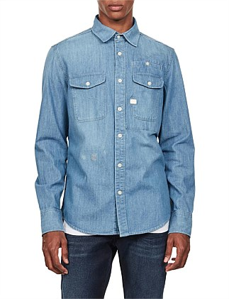 CPO slim shirt l\s