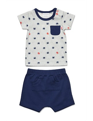 T-Shirt And Short Set(NB-1Y)